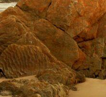 Unusual Markings, Arthur River,Tasmania, Australia. Sticker