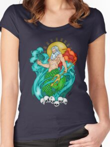 Poseidon Women's Fitted Scoop T-Shirt