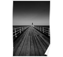 West Pier Whitby Poster