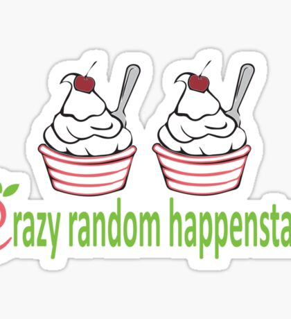 Doctor Horrible Crazy Random Happenstance Sticker