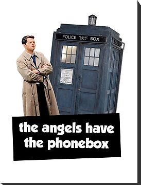 The Angels Have The Phonebox by maezors