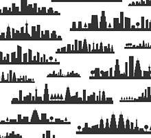 City a background by Aleksander1