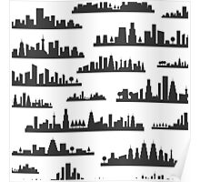 City a background Poster