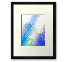 Polar Genesis Framed Print