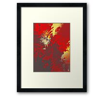 Fire Genesis Framed Print