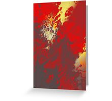 Fire Genesis Greeting Card