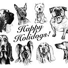 Happy Holidogs! by Acey Thompson