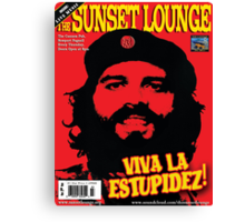 Che JLJ - The Sunset Lounge Canvas Print