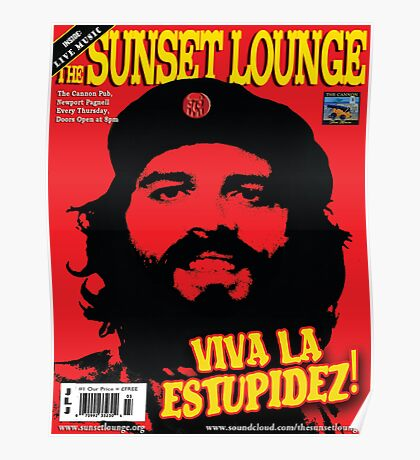 Che JLJ - The Sunset Lounge Poster