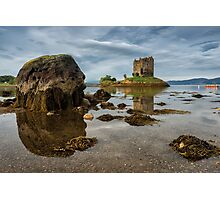 Castle Stalker, Port Appin - Argyll & Bute Photographic Print