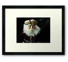A Russian Saint Nicholas Doll Framed Print