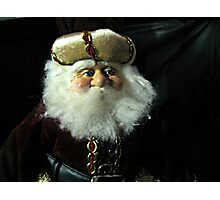 A Russian Saint Nicholas Doll Photographic Print