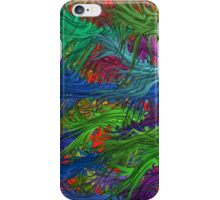 Abstract Two iPhone Case iPhone Case/Skin