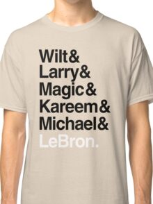 best players all the times. ( basketball ) Classic T-Shirt