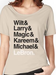 best players all the times. ( basketball ) Women's Relaxed Fit T-Shirt