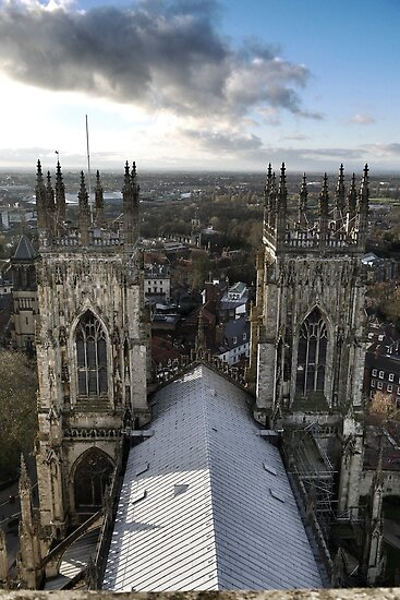 View from York Minster by Siegeworks .