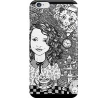Waiting For The Hatter  iPhone Case/Skin