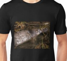 Foraging Platypus, Cradle Mountain Road, Tasmania, Australia. Unisex T-Shirt