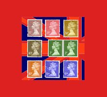 British Royal Mail postage stamps  Unisex T-Shirt