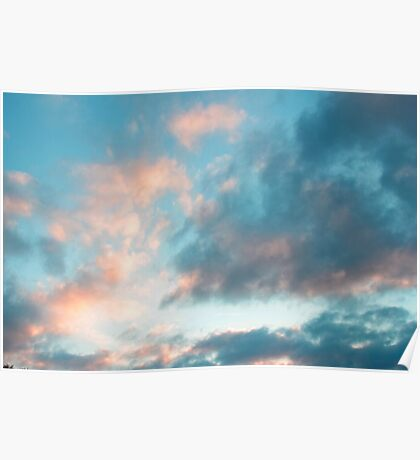candy clouds Poster
