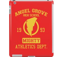 Angel Grove H.S. iPad Case/Skin