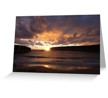Port Campbell Sunset II Greeting Card
