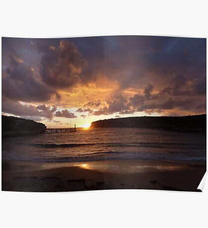 Port Campbell Sunset II Poster