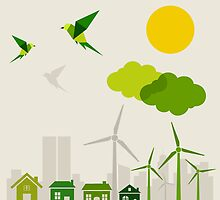 Ecology a city by Aleksander1