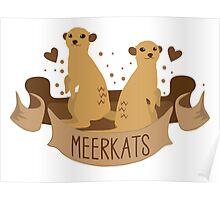 Meerkats banner Poster