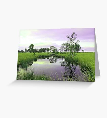Tranquil pool Greeting Card