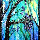 Trees - Snowfall by Linda Callaghan