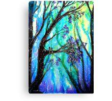 Trees - Snowfall Canvas Print