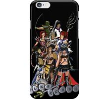 Nine RuneScape Characters iPhone Case/Skin