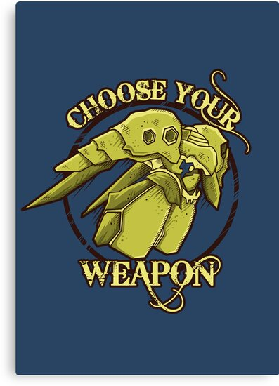CHOOSE YOUR WEAPON by Letter-Q