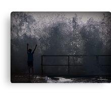 Wave Charmer Canvas Print