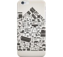 Furniture the house iPhone Case/Skin