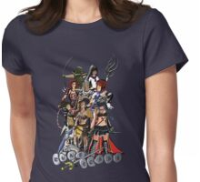 Nine RuneScape Characters Womens Fitted T-Shirt