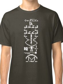 arecibo message / tee Classic T-Shirt