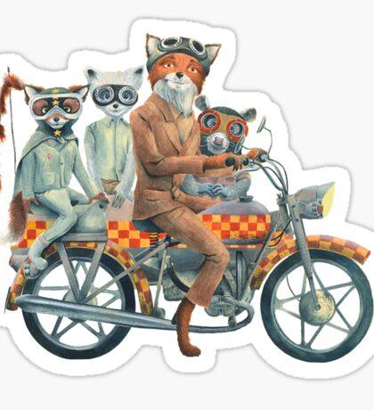 Fox Ride Sticker