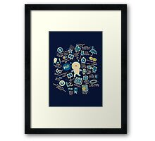AWESOME BIBI'S GADGETS Framed Print
