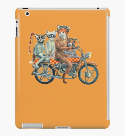 Fox Ride iPad Case/Skin