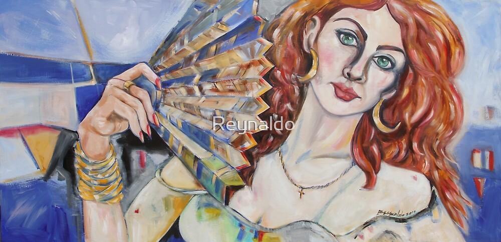 The Sea, A Beautiful Woman by Reynaldo