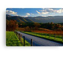 Hyatt Lane, Great Smoky Mountains National Park Canvas Print
