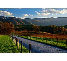 Hyatt Lane, Great Smoky Mountains National Park Photographic Print