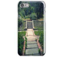 Overgrown Courtyard iPhone Case/Skin