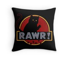 Rawr! Throw Pillow