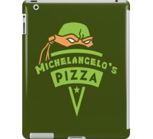 Michelangelo's Pizza iPad Case/Skin