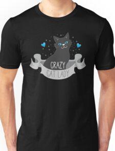 Crazy Cat Lady Banner Unisex T-Shirt