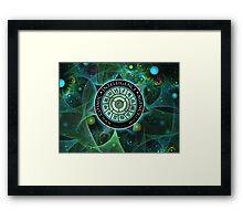 Cosmic Intelligence Agency Framed Print