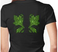 Absinthe Faerie Wings Womens Fitted T-Shirt